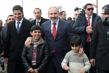 RA Prime Minister Nikol Pashinyan paid a visit to Ararat Province, Armenia - Photolure News Agency