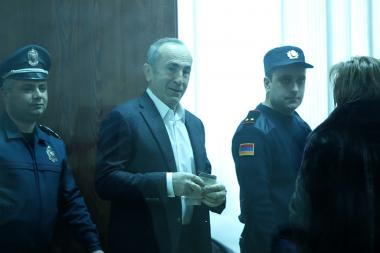 Hearings of the RA Second President Robert Kocharyan's case took place at the Court of General Jurisdiction of Shengavit Administrative District - Photolure News Agency