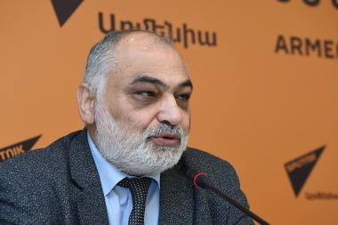 Ruben Safrastyan is guest at the Sputnik Armenia press center - Photolure News Agency