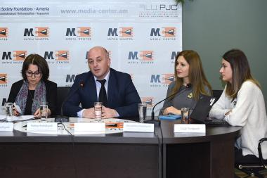 A discussion on the topic of the 'Potential Migration Streams: Disaster, War. Is Armenia Ready?' took place at the Media Center - Photolure News Agency