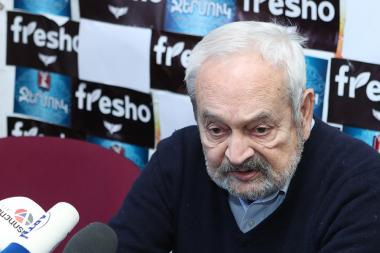 RA Honored Architect Hrach Poghosyan are guest in Tesaket press club - Photolure News Agency