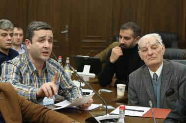 'Bright Armenia' faction holds a working discussion at the RA National Assembly - Photolure News Agency