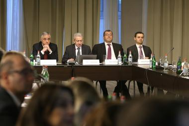 A coordinating conference of the 'Donor Community' took place at the Armenia Marriott Hotel - Photolure News Agency