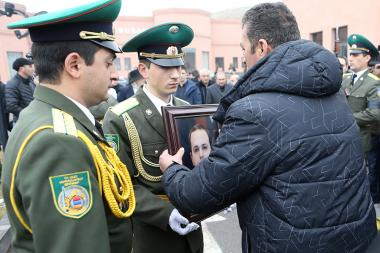 The funeral of former RA National Security Service Director Georgi Kutoyan took place in Yerevan, Armenia - Photolure News Agency