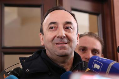 RA Special Investigation Service conducts a search in the apartment of RA Constitutional Court President Hrayr Tovmasyan - Photolure News Agency