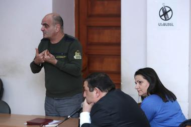 Hearings of Nazik Amiryan's case took place at the Court of General Jurisdiction of Kentron and Nork-Marash Administrative Districts of Yerevan, Armenia - Photolure News Agency
