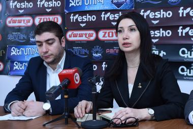A press conference on the topic of the 'What was Nikol Pashinyan's activity in the socio-economic sphere, where do the domestic political developments lead and what to expect from the Constitutional Referendum?' took place in Hayeli press club - Photolure News Agency