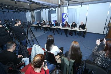 A pilot discussion with the participation of the mass media representatives took place at the Congress Hotel - Photolure News Agency