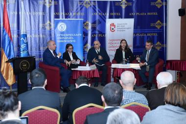 A workshop on the topic of 'Public Reform Strategy of the RA Police and its Action Plan for 2020-2022' took place at Ani Plaza Hotel - Photolure News Agency