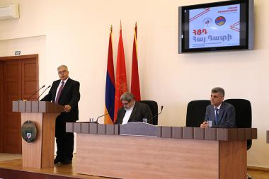 Conference of the ARF Hay Dat Committees and Offices took place in Stepanakert, Artsakh Republic - Photolure News Agency