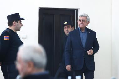 First hearings of the RA third President Serzh Sargsyan took place at the Court of General Jurisdiction of Kentron and Nork-Marash Administrative Districts - Photolure News Agency
