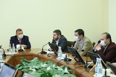 Standing Committee on Regional and Eurasian Integration holds a session - Photolure News Agency