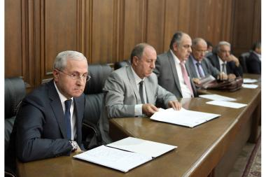 Parliamentary hearings on topic of elimination of hail consequences in Armavir marz took place at the RA NA - Photolure News Agency