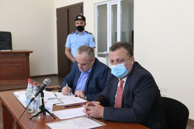 RA Supreme Judicial Council started the examination of the disciplinary case on the judge of the RA Criminal Court of Appeal Alexander Azaryan - Photolure News Agency