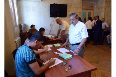 Elections of the chairman of the Chamber of Advocates of the RA - Photolure News Agency