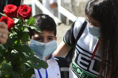 Schools have opened their doors to schoolchildren for the first time since the end of the state of emergency declared due to the coronavirus in Armenia - Photolure News Agency