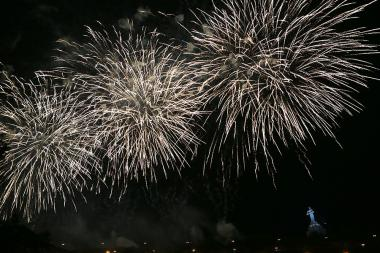 A festive firework on the occasion of the 29th anniversary of Armenia's Independence took place in Yerevan, Armenia - Photolure News Agency
