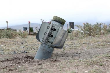 Ivanyan community after Azerbaijani shelling, Artsakh Republic - Photolure News Agency