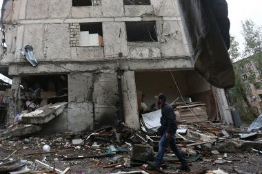 Cities of Artsakh Republic after Azerbaijani shelling - Photolure News Agency