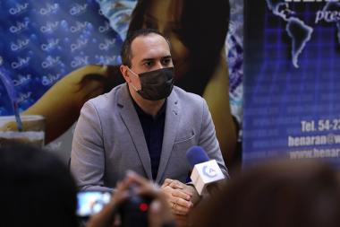 Expert on regional issue Armen Petrosyan gives a press conference in Henaran press club - Photolure News Agency