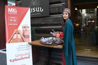 "A fair of Artsakh products entitled ""Artsakh in Yerevan"" opened in Yerevan today - Photolure News Agency"