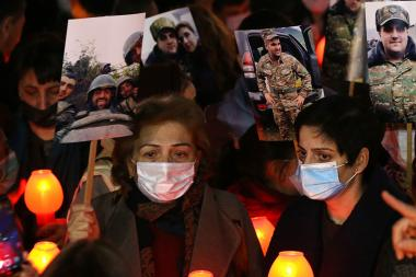 A candlelight tribute march in memory of martyred soldiers of Artsakh took place in Yerevan, Armenia - Photolure News Agency