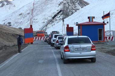 Armenia and Azerbaijan has set up a new checkpoint in Vardenis-Sotk road on 24th of November - Photolure News Agency