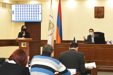 City Council session took place at the Municipality of Yerevan - Photolure News Agency