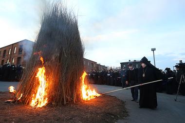 Celebration of the national religious holiday Tearnyndaraj (Trndez) in Armenia - Photolure News Agency
