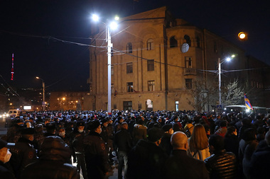 The movement for the Salvation of the Homeland organized a 'Dignity March' in the streets of Yerevan, Armenia - Photolure News Agency
