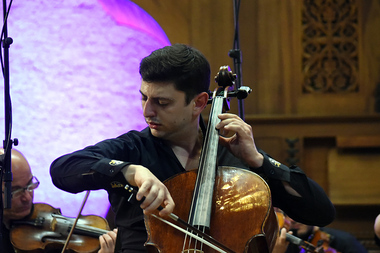 Concert of the famous Armenian cellist Narek Hakhnazaryan with the National Chamber Orchestra of Armenia took place at the Komitas Chamber Music House - Photolure News Agency