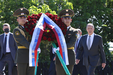 Minister of Foreign Affairs of the Russian Federation Sergey Lavrov paid an official visit to Yerevan, Armenia - Photolure News Agency