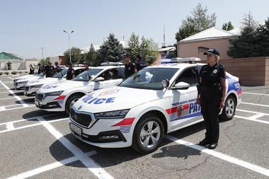 Patrol service line check took place at the RA Police Patrol Service Regiment in Yerevan, Armenia - Photolure News Agency