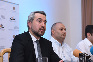 A press conference dedicated to the anniversary events of Arno Babajanyan and Edward Mirzoyan took place at the Arno Babajanyan Concert Hall - Photolure News Agency