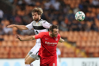 UEFA Champions League first qualifying round match between Connah's Quay Nomads FC and Alashkert FC took place at the Vazgen Sargsyan Republican Stadium of Yerevan, Armenia - Photolure News Agency