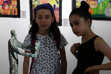 Solemn opening ceremony of an exhibition entitled 'Topography' took place in Yerevan, Armenia - Photolure News Agency