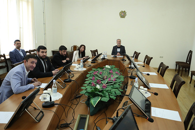 RA NA Standing Committee on Defense and Security holds a session at the RA National Assembly - Photolure News Agency