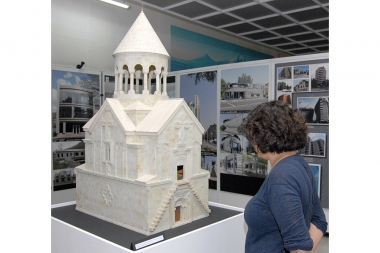 Exhibition of works of architecture devoted to the 20th Anniversary of Armenia's Independence, at the National Museum-Institute of Architecture of Armenia - Photolure News Agency