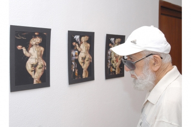Jirayr Aghavelyan's personal exhibition, at Naregatsi Art Center - Photolure News Agency