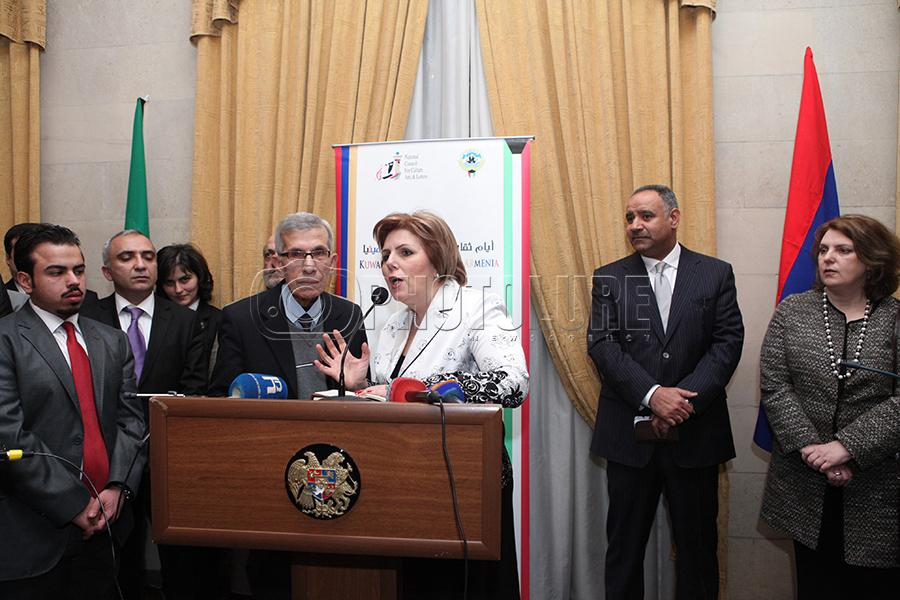 The Kuwait Culture Days in Armenia officially kick off with an