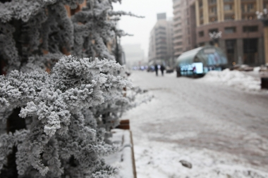 Cold weather in Yerevan - Photolure News Agency