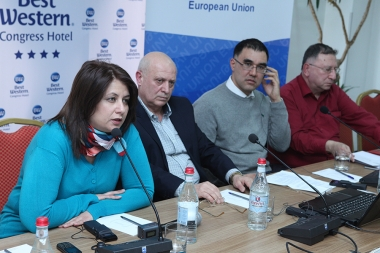 Presentation of the results of 'Assessment of corruption risk at the RA Healthcare sector' reserach took place at Congress Hotel - Photolure News Agency